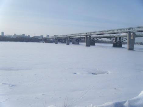 Novosibirsk River Ob
