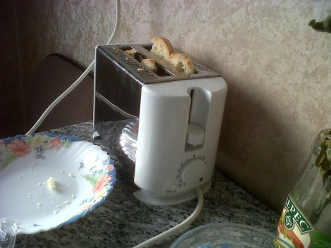 The Travelling Toaster