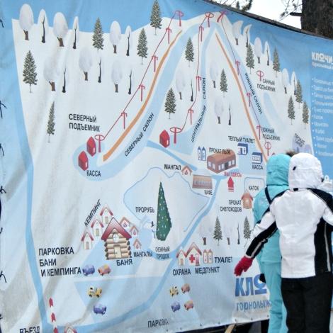 russian ski map