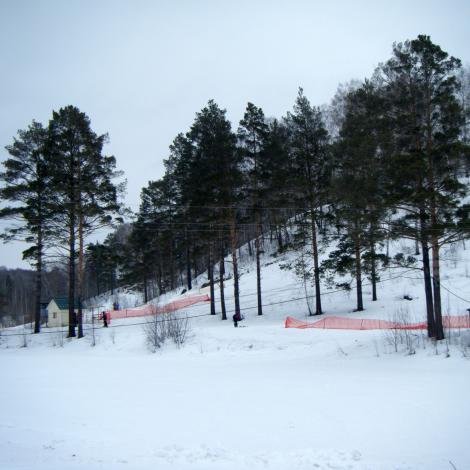 siberian skiing