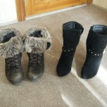 Hmm...when can I swap my winter SHOES for my spring SHOES...?!