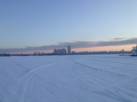 Frozen Lake Moscow