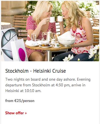 stockholm to helsinki cruise