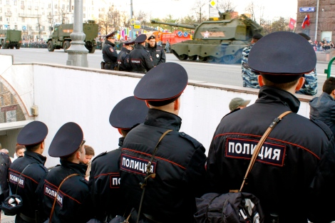 Victory Day Police Moscow