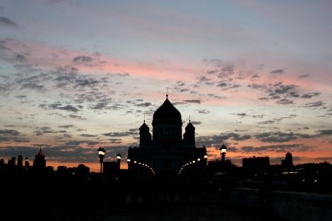 Sunset Patriarchal Bridge