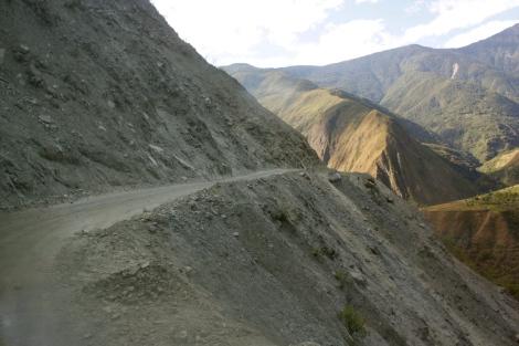 Road from Machu Picchu