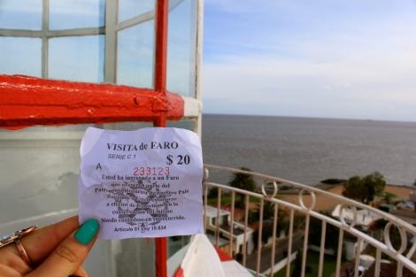 Visita de Faro Lighthouse Colonia Uruguay