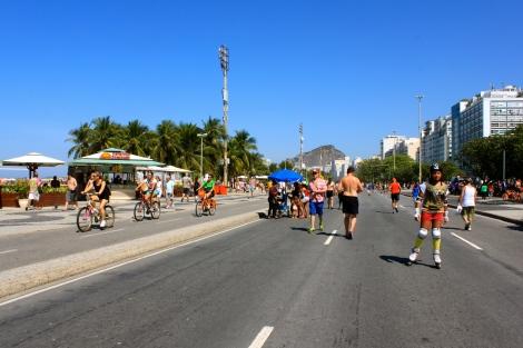 Sunday in Rio de Janeiro
