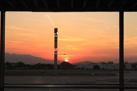 Sunset Rio de Janeiro Airport
