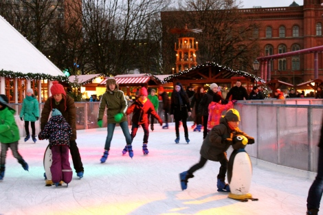 Berlin Christmas Markets Ice Skating
