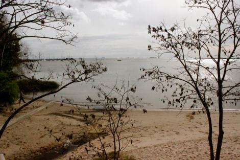 Beach in Colonia Uruguay