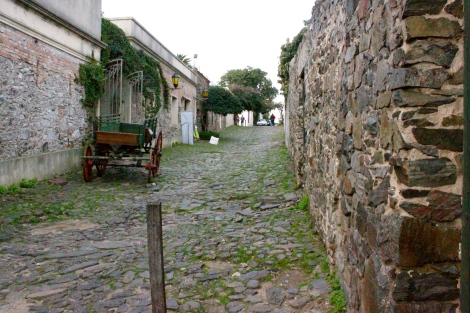 Colonia Uruguay Cobbled Streets