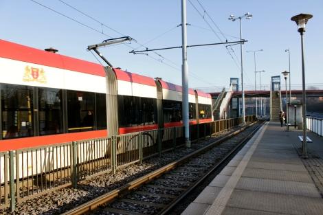 Odrzańska Tram Station Gdansk Villa Anna