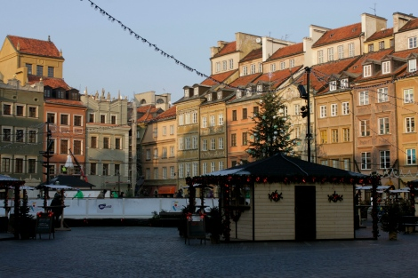 Old Market Square Warsaw Stacja Rynek