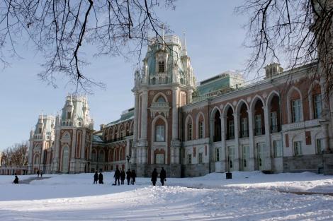 grand palace park tsaritsyno