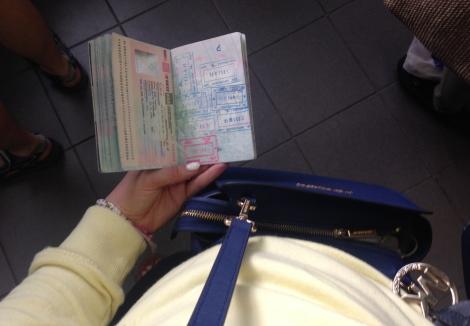 Passport control Russia-Estonia